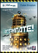 Dalek Invasion at Fleet Air Arm show poster