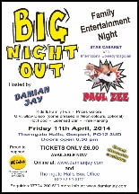 Family Big Night Out show poster